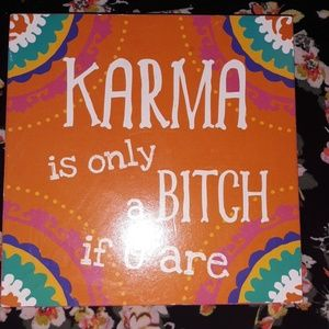 Karma desk block